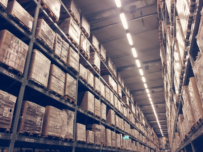 storing Inventory In Warehouse