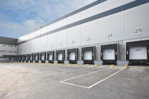 Big distribution warehouse