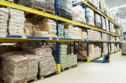 Warehouse Storing Food
